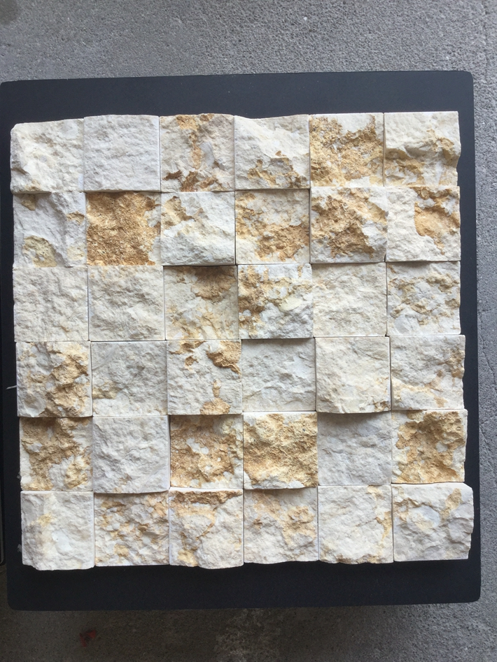 Sunny Beige Marble Mosaic