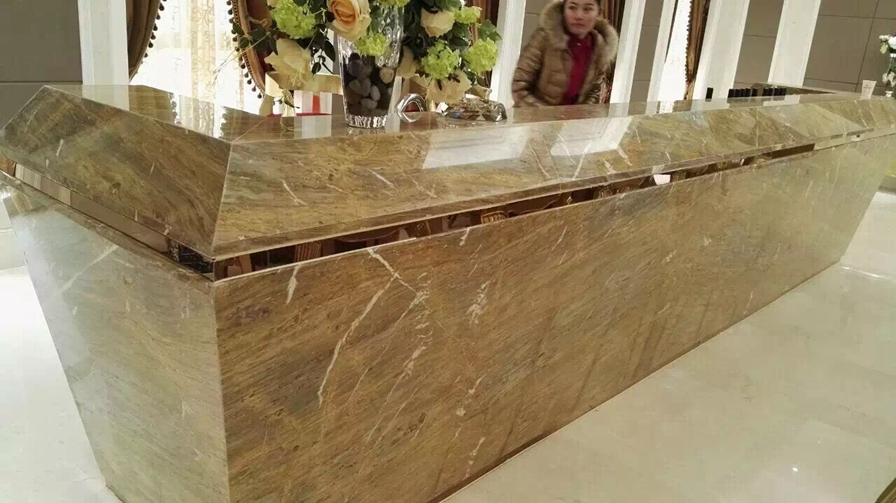 Barcelona Gold Marble Countertop