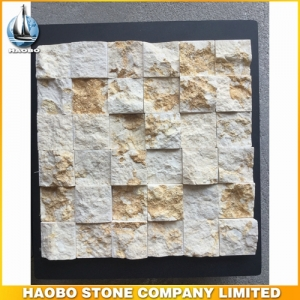 Natural Surface Sunny Beige Marble Mosaic