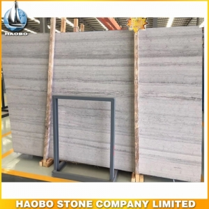 1.8CM Blue Wood Marble Slab